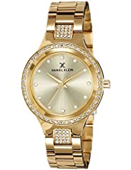 Daniel Klein Analog Gold Dial Women's Watch - DK10688-2