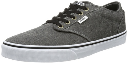 Vans Mens Atwood M Low-Top VTUYL5V Chambray/Black/White 5.5 UK, 38.5 EU