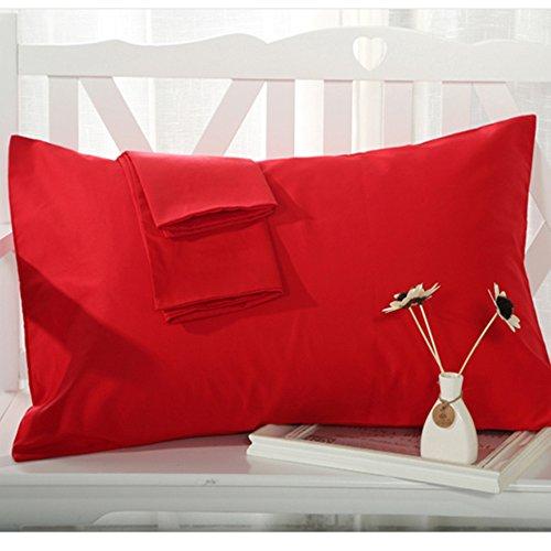Buy Cheap YAROO Pillowcase, Genuine Egyptian Cotton 300 Thread Count Standard 2-Piece Pillow case Se...