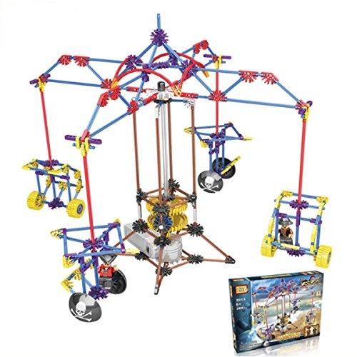 Loz-2013 360Pcs Amusement Park Series Amusement Park Series Electric Building Block Intelligent Toy By Preciastore