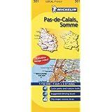Pas-de-Calais, Somme Michelin Local Map 301 (Michelin Local Maps)