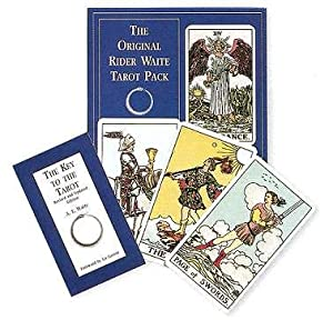 Rider-Waite Tarot Set (deck & book)