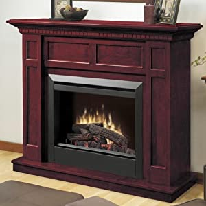 Dimplex Caprice Free Standing Electric Fireplace in Cherry