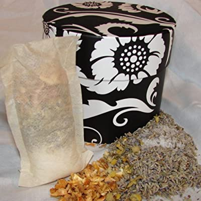 Element Earth Bath Lavender Release Bath Tea in Decorative Gift Box