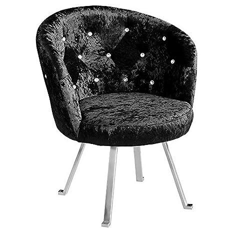 Group Tiffany Leisure silla, 72 x 68 x 82,5 cm, negro
