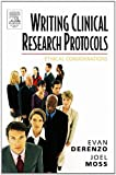 img - for By Evan DeRenzo - Writing Clinical Research Protocols book / textbook / text book