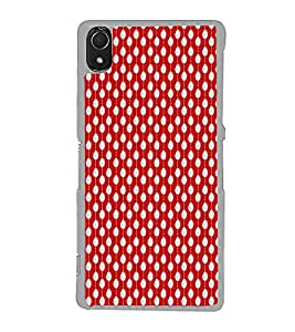 ifasho Animated Pattern design in pearl Back Case Cover for Sony Xperia Z3