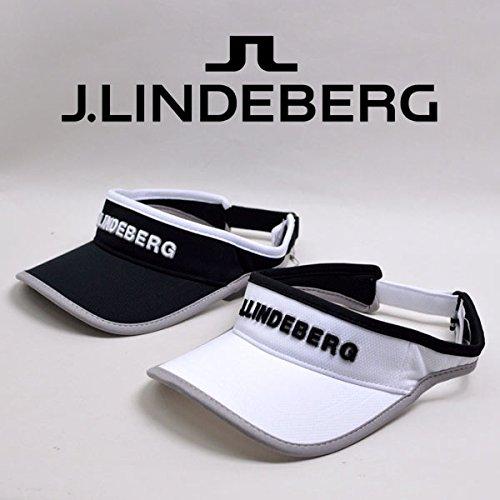 (J.リンドバーグ) J.LINDEBERG サンバイザー 083-51301 4(白)