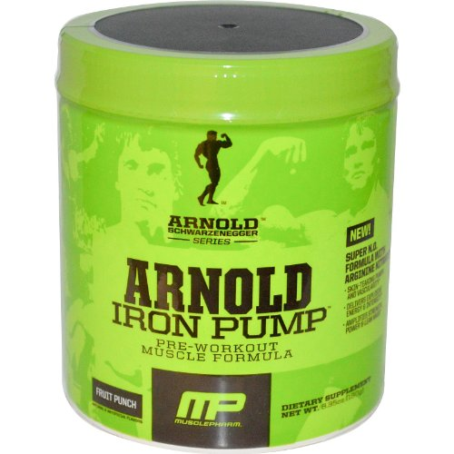 Arnold By MusclePharm Iron Pump 30 Serving Fruit Punch (Arnold Iron Pump Pre Workout compare prices)