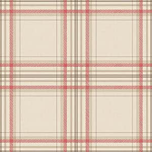 papier peint hoden decor cossais 97722 couleur rouge lin. Black Bedroom Furniture Sets. Home Design Ideas