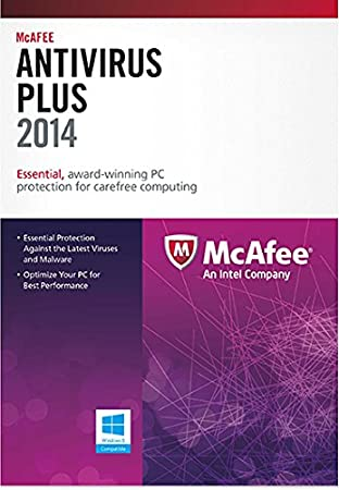 McAfee AntiVirus Plus 3PC 2014 [Online Code]
