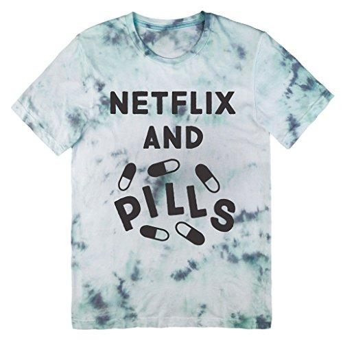 Killer Condo Netflix And Pills Unisex Tie Dye T-Shirt Medium