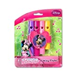 Disney Minnie Mouse 4-way Flute on Raised Blister Card