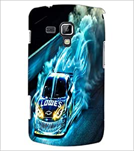 PrintDhaba Digital Car D-2227 Back Case Cover for SAMSUNG GALAXY S DUOS 2 S7582 (Multi-Coloured)