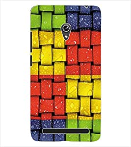 ColourCraft Colourful Pattern Back Case Cover for ASUS ZENFONE 6 A600CG