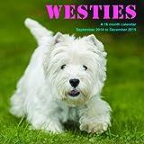 Westies Calendar - 2015 Wall calendars - Dog Calendars - Monthly Wall Calendar by Magnum
