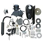 Generic 80cc 2-Stroke Black Engine Motor Kit for Motorized Bicycle Bike Black
