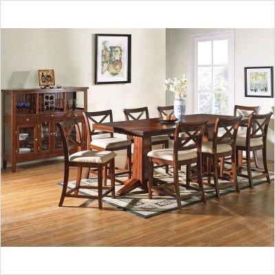 Buy Low Price Steve Silver Furniture Alyssa 9 Piece Dining Table Set In Multi