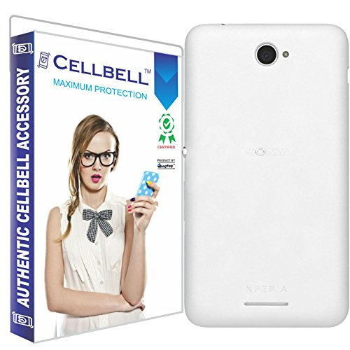 Cellbell Ultra Thin 0.3mm Clear Transparent Flexible Soft TPU Slim Back Case Cover For Sony Xperia E4