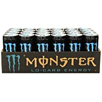 Monster Energy Drink, Lo-Carb, 8.3 Ounce (Pack of 24)