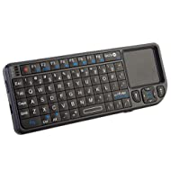 Favi FE01-BL Mini Wireless Keyboard With Mouse Touchpad - Black