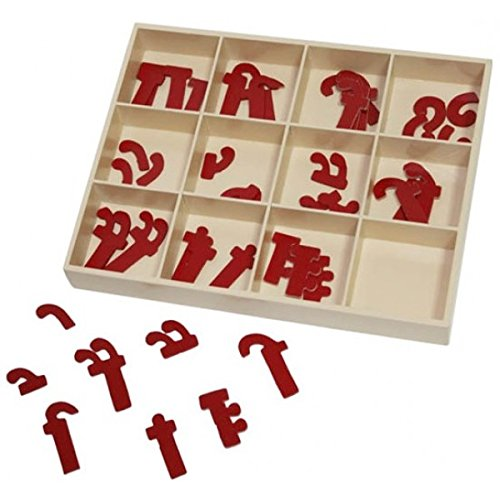 Skillofun Moveable Hindi Maatrs In Box