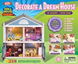 POOF-Slinky 1009 Ideal Designer Dollhouse with Working Lights, 2-Feet Tall, 150-Piece Set
