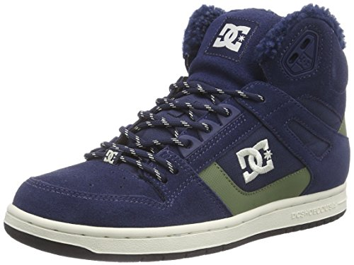 DC Shoes REBOUND HIGH WN J, Sneaker alta donna, Blu (Blu (navy 410)), 38