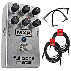 MXR M116 Fullbore Metal Distortion Guitar Pedal Bundle