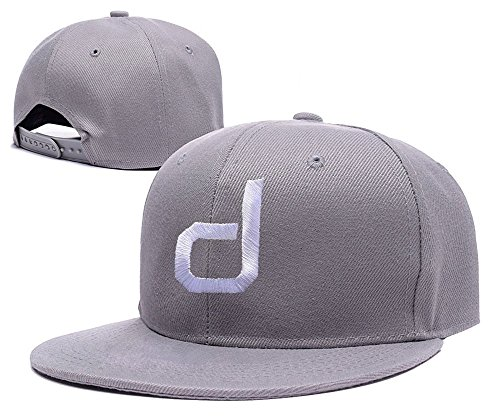 xida-dustin-johnson-logo-adjustable-embroidery-snapback-hat-cap-grey