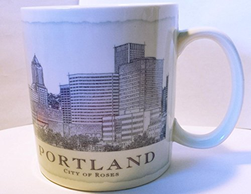 Starbucks 2006 Portland Architecture Series City Mug Cup