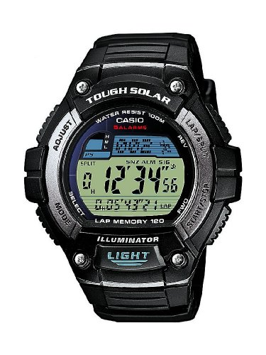 Casio Collection Men's Solar Collection Digital Quartz Watch W-S220-1AVEF