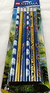 Lego Legends of Chima Pencils, 6 Pack