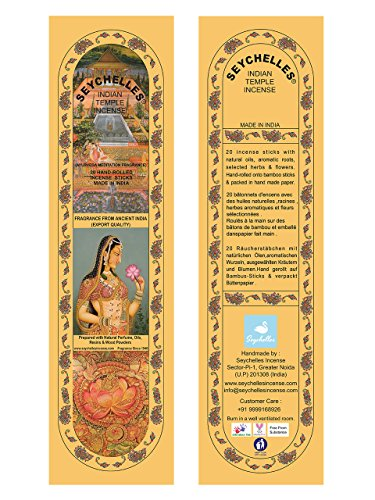 Hand-Rolled Incense Sticks- Pure Loban Ayurveda Meditation Agarbatti Pack Of 5 (100 Sticks)