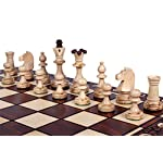 The Zaria - Unique Wood Chess Set, Pieces, Chess Board & Storage