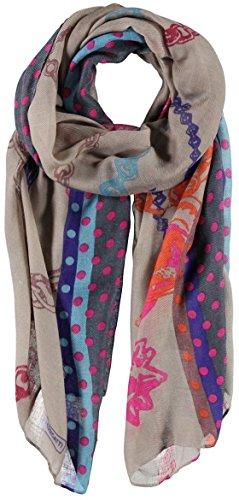 Laurina Sciarpa da Donna Passigatti sciarpa oversize sciarpa da donna Taglia unica - lilla
