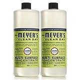 MRS MEYERS Multi-Surface Concentrate, Lemon Verbena, 64 Fluid Ounce