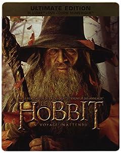 Le Hobbit : Un voyage inattendu [Ultimate Edition - Blu-ray + DVD + Copie digitale - SteelBook Gandalf]