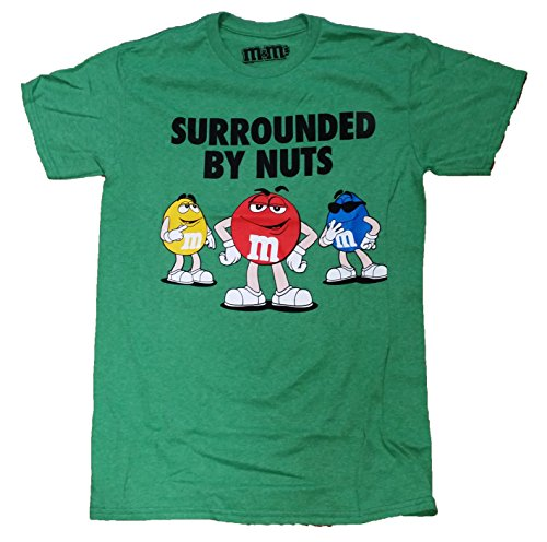 M&M'S Surrounded By Nuts Graphic T-Shirt - Medium