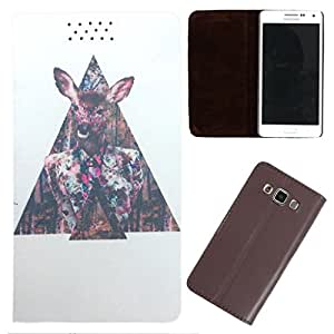 DooDa - For iPhone 5 / 5S PU Leather Designer Fashionable Fancy Flip Case Cover Pouch With Smooth Inner Velvet
