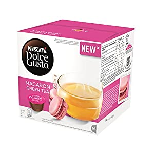 Purchase Nescafe DOLCE GUSTO Pods / Capsules - MACARON GREEN TEA (NEW) = 16 pods (pack of 3) from Nestlé Portugal SA