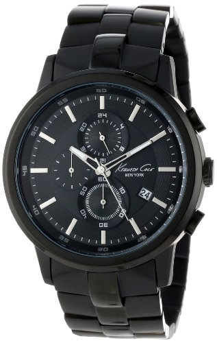 Kenneth Cole New York Men's KC9226 Black Stainless Steel Bracelet Watch