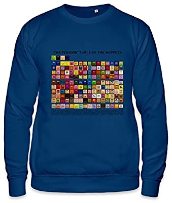 Periodic Table of the Muppets Unisex Sweatshirt