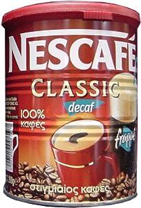Nescafe Classic Instant Greek Coffee (Decaf) 100 Gram Can