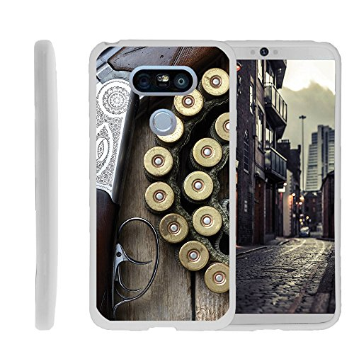 Case for LG G5 , TPU Slim Fitted Shock Light Cover with Phone Case Hunting Collection | by Miniturtle® - Shotgun with Ammo