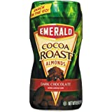 Emerald - Dark Chocolate Cocoa Roasted Almonds, 8.5 oz On-the-Go Canister 86302 (DMi EA