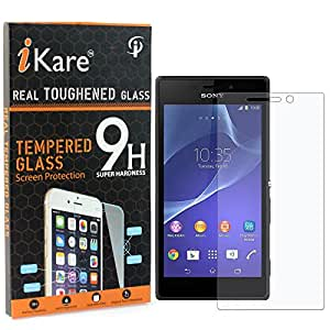 Xperia E1 Tempered Glass, iKare 2.5D 9H Tempered Screen Protector for Sony Xperia E1