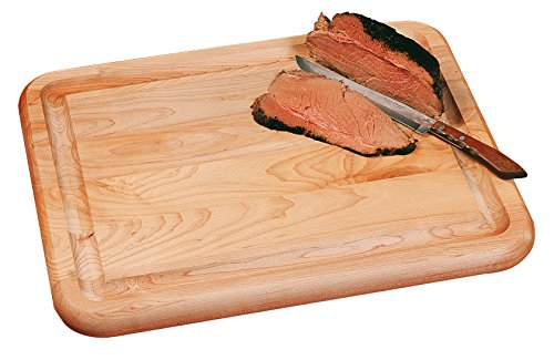 Catskill Craftsmen Reversible Carver Cutting Board (Wooden Meat Cutting Board compare prices)