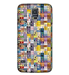 Samsung New S5 Comic & Cartoon Cover CC19