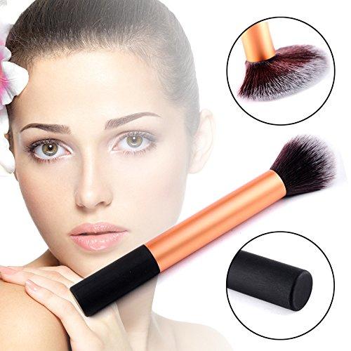 Trillycoler Outil Cosmétique Kabuki poudre Visage Fondation Poudre Pinceau Maquillage